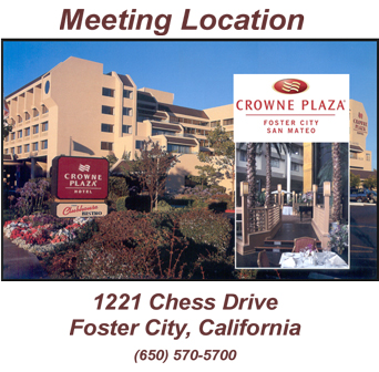 Crowne Plaza Foster City-San Mateo Location/Map